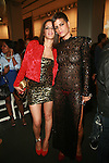 Actress Patricia Mota and Supermodel Omahyra Mota attend New Premium Lounge Signed by INDASHIO Men's Collection Fashion Show at AUDI FORUM, NY  9/13/11