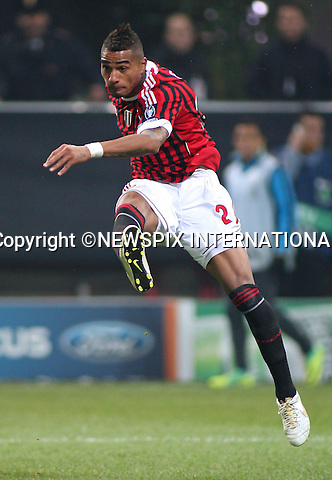"KEVIN PRINCE BOATENG.scores for AC Milan during the UEFA Champions League group H match between AC Milan and FC Barcelona at Giuseppe Meazza Stadium, Milan_23/11/2011.Mandatory Credit Photos:©Lotti Sestini/Newspix International..              ***ALL FEES PAYABLE TO: ""NEWSPIX INTERNATIONAL***..IMMEDIATE CONFIRMATION OF USAGE REQUIRED:.Newspix International, 31 Chinnery Hill, Bishop's Stortford, ENGLAND CM23 3PS.Tel:+441279 324672  ; Fax: +441279656877.Mobile:  07775681153.e-mail: info@newspixinternational.co.uk"