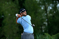 Jon Rahm (ESP) during the second round of The Northern Trust, Liberty National Golf Club, Jersey City, New Jersey, USA. 09/08/2019.<br /> Picture Michael Cohen / Golffile.ie<br /> <br /> All photo usage must carry mandatory copyright credit (© Golffile | Michael Cohen)