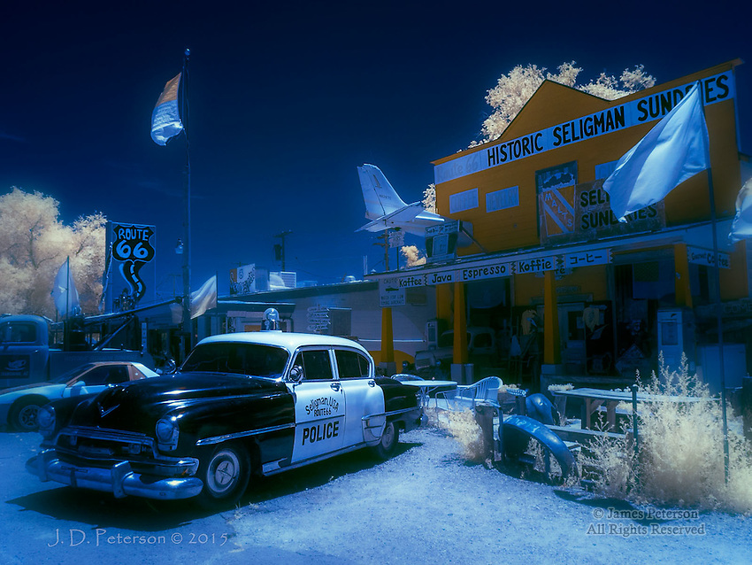 Historic Seligman Sundries (Infrared)