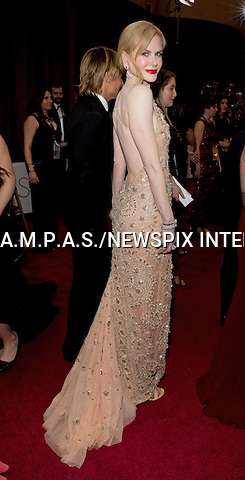26.02.2017; Hollywood, USA: NICOLE KIDMAN<br /> attends The 89th Annual Academy Awards at the Dolby&reg; Theatre in Hollywood.<br /> Mandatory Photo Credit: &copy;AMPAS/NEWSPIX INTERNATIONAL<br /> <br /> IMMEDIATE CONFIRMATION OF USAGE REQUIRED:<br /> Newspix International, 31 Chinnery Hill, Bishop's Stortford, ENGLAND CM23 3PS<br /> Tel:+441279 324672  ; Fax: +441279656877<br /> Mobile:  07775681153<br /> e-mail: info@newspixinternational.co.uk<br /> Usage Implies Acceptance of Our Terms &amp; Conditions<br /> Please refer to usage terms. All Fees Payable To Newspix International