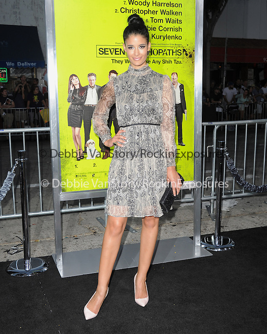 Jessica Clark at The CBS Films L.A. Premiere of Seven Psychopaths Premiere held at The Bruin Theatre in Westwood, California on October 01,2012                                                                               © 2012 Hollywood Press Agency