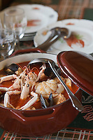 Europe/France/Aquitaine/64/Pyrénées-Atlantiques/Pays Basque/ Socoa:  Le Ttoro  du Restaurant Chez Margot