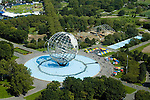 Aerial view , flushing meadows park, Queens, New York