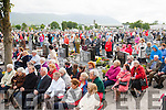 Crowd<br /> ---------<br /> Some of the very large congregation that attended mass at Rath cemetery,Rathass,Tralee last Wednesday evening.