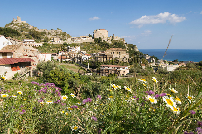 Italy, Calabria, Roccella Ionica (also Jonica): resort at Ionian Sea, known for his annual Jazz-festival