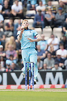 Ben Stokes (England) in action during England vs West Indies, ICC World Cup Cricket at the Hampshire Bowl on 14th June 2019