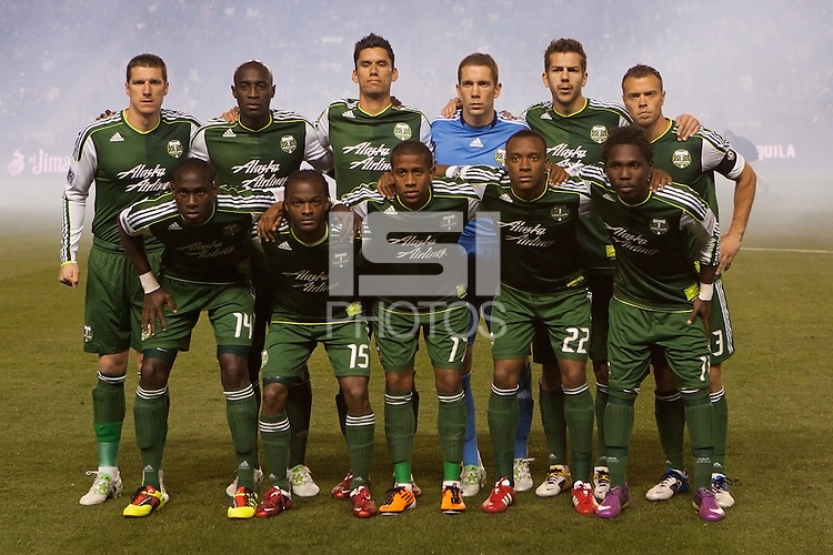 Portland Timbers starting eleven. The LA Galaxy defeated the Portland Timbers 3-0 at Home Depot Center stadium in Carson, California on  April  23, 2011....