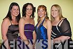 glam l-r: Ciara O Connor, Mary O'Connor, Deidre O'Keeffe and Anne-Marie Flynn   all sat nite ball itt   Copyright Kerry's Eye 2008