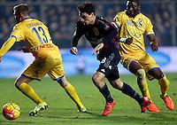 Giacomo Bonaventura   during   Italian Serie A soccer match between Frosinone and AC Milan  at Matusa  Stadium in Frosinone ,December 20  , 2015