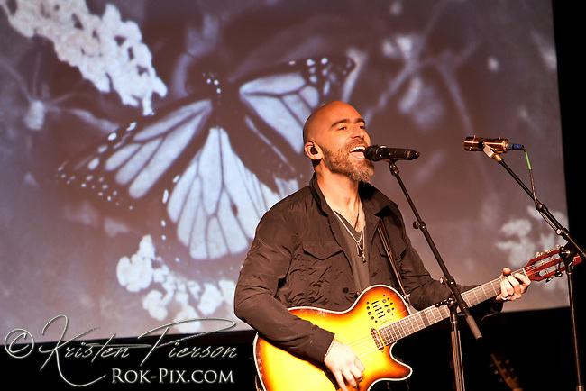 Ed Kowalczyk performs at the Narrows Center for the Arts in Fall River, Massachusetts February 5, 2015.
