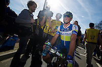 48th Amstel Gold Race 2013..3rd: Simon Gerrans (AUS) after the finsh