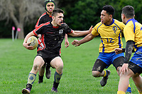 Hurricanes U15 Rugby - Manukura v Rongotai College at Trentham Memorial Park, Upper Hutt, New Zealand on Friday 7 September 2018.<br /> Photo by Masanori Udagawa. <br /> www.photowellington.photoshelter.com