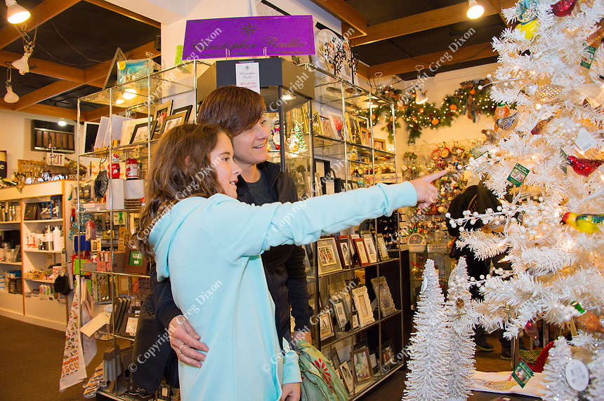 Winter shoppers look for holiday presents at Madison's Orange Tree Imports on Monroe Street, on Wednesday, December 10, 2015 in Madison, Wisconsin