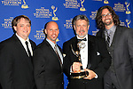 LOS ANGELES - JUN 20: Rob McIntyre, Thomas J Mayden, Justin Brinsfield, Matt Corey at The 41st Daytime Creative Arts Emmy Awards Gala in the Westin Bonaventure Hotel on June 20th, 2014 in Los Angeles, California