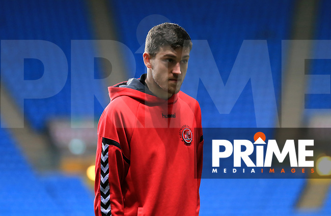 Ashley Nadesan of Fleetwood Town before the Sky Bet League 1 match between Coventry City and Fleetwood Town at the Ricoh Arena, Coventry, England on 12 March 2019. Photo by Leila Coker / PRiME Media Images.