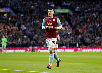 1st March 2020; Wembley Stadium, London, England; Carabao Cup Final, League Cup, Aston Villa versus Manchester City; Matt Targett of Aston Villa - Strictly Editorial Use Only. No use with unauthorized audio, video, data, fixture lists, club/league logos or 'live' services. Online in-match use limited to 120 images, no video emulation. No use in betting, games or single club/league/player publications