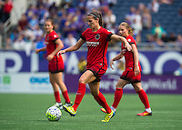 Orlando, FL - Sunday June 26, 2016: Katherine Reynolds  during a regular season National Women's Soccer League (NWSL) match between the Orlando Pride and the Portland Thorns FC at Camping World Stadium.