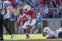 STANFORD, CA - SEPTEMBER 22, 2013: Anthony Wilkerson during Stanford's game against Arizona State. The Cardinal defeated the Sun Devils 42-28.