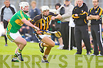 Abbeydorney's Darragh O'Connell tries to get away from Lixnaw Raymond Galvin at Austin Stack park, Tralee on Saturday.
