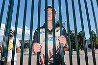13th March 2020, Sydney Cricket Ground, Sydney, Australia;  A young fan outside the SCG after being told there is no public access due to the Coronavirus precautions. International One Day Cricket. Australia versus New Zealand Blackcaps, Chappell–Hadlee Trophy, Game 1.