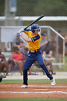 Zachary Levenson (5) during the WWBA World Championship at the Roger Dean Complex on October 12, 2019 in Jupiter, Florida.  Zachary Levenson attends Lake Howell High School in Oviedo, FL and is committed to Kennesaw State.  (Mike Janes/Four Seam Images)