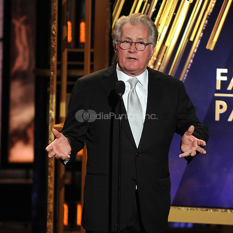BEVERLY HILLS, CA - APRIL 11: Martin Sheen appears on the 2015 TV Land Awards at the Saban Theater on April 11, 2015 in Beverly Hills, California. FMPG/MediaPunch