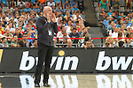 07.09.2014. Barcelona, Spain. 2014 FIBA Basketball World Cup, round of 16. Picture show Nenad Vucinic  in action during game between New Zealand   v  Lithuania at Palau St. Jordi
