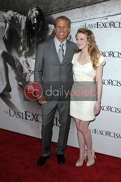 Patrick Fabian, Ashley Bell<br />