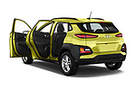 Car images close up view of a 2018 Hyundai Kona Twist 5 Door SUV doors