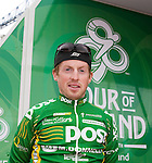 Paidi O'Brien, An Post Sean Kelly team at the sign on of stage 1 Tour of Ireland cycle race.