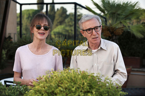 Judy Davis & Woody Allen.in To Rome With Love .*Filmstill - Editorial Use Only*.CAP/NFS.Supplied by Capital Pictures.