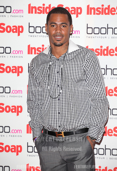 MC Harvey arriving for the 2012 Inside Soap Awards, at No.1 Marylebone, London. 24/09/2012 Picture by: Alexandra Glen / Featureflash