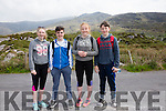 Getting set to take on Cnoc na dTobar on Sunday for the annual pilgrimage with mass at the top were l-r; Sadbh O'Shea, Naill Casey, Sarah Landers & Jamie Cooke.