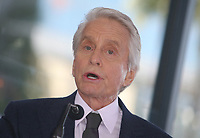 Hollywood, CA - November 06 Michael Douglas, Attends Michael Douglas Honored With Star On The Hollywood Walk Of Fame on November 06, 2018. <br /> CAP/MPI/FS<br /> &copy;FS/MPI/Capital Pictures