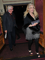 Mike Hollingsworth and Georgia Arianna, Lady Colin Campbell at the Parkinson's UK presents Symfunny No. 2, Royal Albert Hall, Kensington Gore, London, England, UK, on Wednesday 19 April 2017.<br /> CAP/CAN<br /> &copy;CAN/Capital Pictures