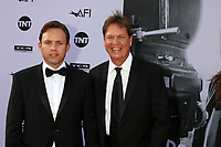 HOLLYWOOD, CA - JUNE 7: Kevin Dees and Rick Dees at the American Film Institute Lifetime Achievement Award Honoring George Clooney at the Dolby Theater in Hollywood, California on June 7, 2018. <br /> CAP/MPI/DE<br /> &copy;DE//MPI/Capital Pictures