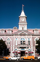 Victoria: City Hall, 1878; Clock Tower, 1891.  Photo '88.
