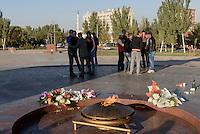 Platz des Sieges, Bishkek, Kirgistan, Asien<br /> Victory Square, Bishkek, Kirgistan, Asia