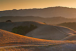 Hills at sunset, Briones Regional Park, Contra Costa County, California