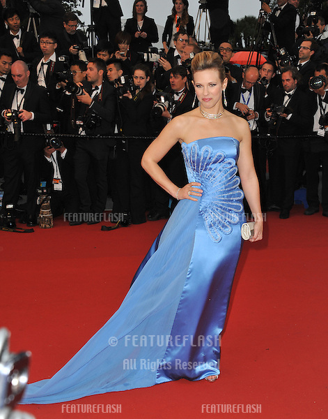 "Lorie at the premiere of ""The Great Gatsby"" the opening movie of the 66th Festival de Cannes..May 15, 2013  Cannes, France.Picture: Paul Smith / Featureflash"