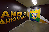Photo before the match Brasil vs Peru, Corresponding to  Group -B- of the America Cup Centenary 2016 at Gillette Stadium.<br /> <br /> Foto previo al partido Brasil vs Peru, Correspondiente al Grupo -B- de la Copa America Centenario 2016 en el Estadio Gillette en la foto: Vestidor Brasil <br /> <br /> <br /> 12/06/2016/MEXSPORT/ISAAC ORTIZ