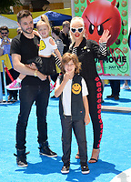 Christina Aguilera &amp; Family at the world premiere for &quot;The Emoji Movie&quot; at the Regency Village Theatre, Westwood. Los Angeles, USA 23 July  2017<br /> Picture: Paul Smith/Featureflash/SilverHub 0208 004 5359 sales@silverhubmedia.com