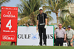 Rory McIlroy (NIR) waiting to tee off on the 4th on day one of the Dubai Desert Classic 2011 on the Majlis Course, Emirates Golf Club, Dubai, UAE. 10/02/2011.Picture Fran Caffrey/www.golffile.ie.