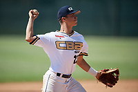 Cody Freeman during the WWBA World Championship at the Roger Dean Complex on October 21, 2018 in Jupiter, Florida.  Cody Freeman is a shortstop from Rancho Cucamonga, California who attends Etiwanda High School and is committed to Baylor.  (Mike Janes/Four Seam Images)