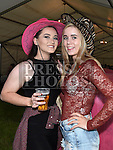 Niamh Monaghan and Aoife Flynn at the charity barn dance in Cushinstown Athletic Club. Photo:Colin Bell/pressphotos.ie