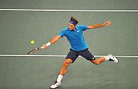 Roger FEDERER - 11.11.2011 - BNP Paribas Masters, Quarts de finale - Bercy, Paris. Photo: Dave Winter / Icon Sport.