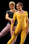 DUETS....Choregraphie : CUNNINGHAM Merce..Compositeur : CAGE John..Compagnie : Merce Cunningham Dance Company..Lumiere : EMMONS Beverly..Costumes : RAUSCHENBERG Robert..Avec :..GOGGANS Jennifer..WEBER Andrea..Lieu : Theatre de la Ville..Ville : Paris..Le : 15 12 2011<br /> &copy; Laurent Paillier / photosdedanse.com<br /> All rights reserved