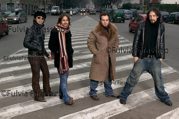 Milano, 17 gennaio 2005.Le Vibrazioni
