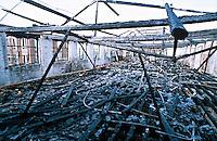 Remains of a severe factory fire..©shoutpictures.com..john@shoutpictures.com